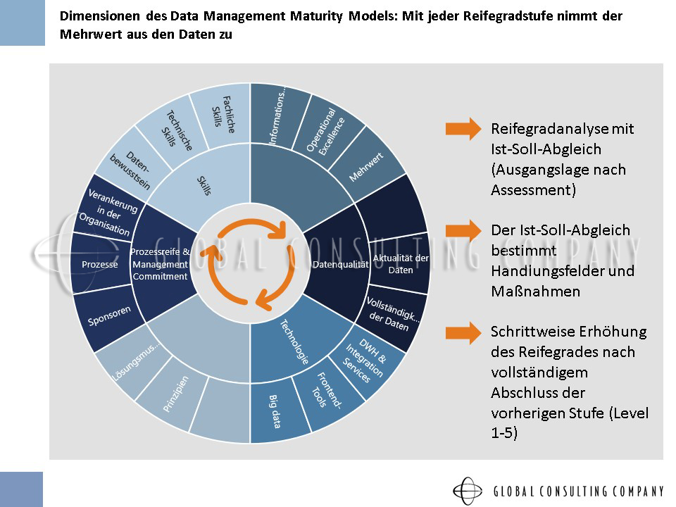 Slide12 Maturity of data Global Consulting Company GmbH